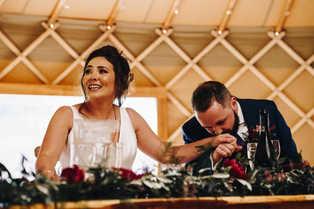 Top Table Wedding Flowers | Perfect Day Wedding Flowers
